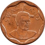 10 Cents - Mswati III (2nd portrait) -  obverse