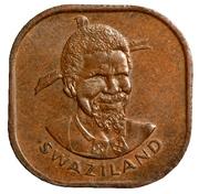 2 Cents - Sobhuza II – obverse