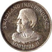 50 Cents - Sobhuza II (Independence) – obverse