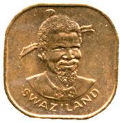2 Cents - Sobhuza II (FAO) -  obverse