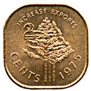 2 Cents - Sobhuza II (FAO) -  reverse