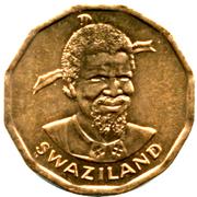 1 Cent - Sobhuza II (FAO) – obverse