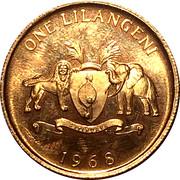 1 Lilangeni - Sobhuza II – reverse