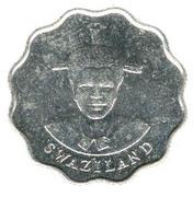 20 Cents - Mswati III (1st portrait) – obverse
