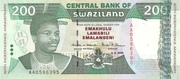 200 Emalangeni (30th Anniversary of Independence) – obverse