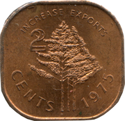 2 Cents - Sobhuza II (FAO) – reverse