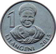 1 Lilangeni - Mswati III – reverse