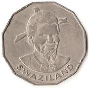 50 Cents - Sobhuza II – obverse