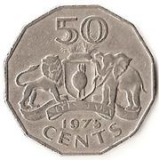 50 Cents - Sobhuza II – reverse