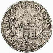 ½ Dalderi - Gustav II Adolf – reverse