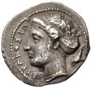 Litra - Dionysios I – obverse