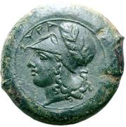 Æ Drachm - Dionysios I – obverse