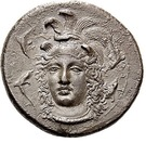 Drachm - Dionysios I – obverse
