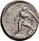 Drachm - Dionysios I – reverse