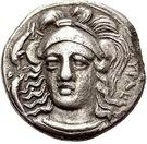 Hemidrachm - Dionysios I – obverse