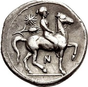 Hemidrachm - Dionysios I – reverse