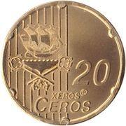 20 Xeros Ceros – reverse