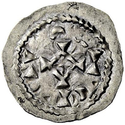 Denar - Rudolf III (Tabernis, Burgundian Mint) – reverse