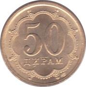 50 Diram (magnetic) – reverse