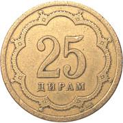 25 Diram (non-magnetic) -  reverse
