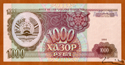 1 000 Rubles – obverse