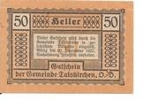 50 Heller (Taiskirchen) -  obverse