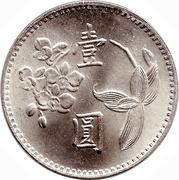 1 New Dollar – reverse
