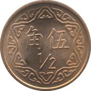 ½ Yuan – reverse