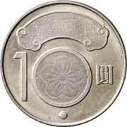 10 New Dollars (Chiang Wei-shui) – reverse