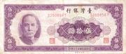 50 New Dollars (multicoloured background) – obverse