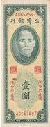1 Yuan (Quemoy) – obverse
