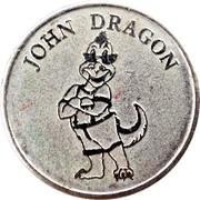 Amusement Token - John Dragon – obverse