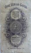 1 Yen in Gold (1904) – reverse