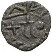 1 Denarius (Cross; circle) -  reverse