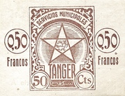 0.50 Francos -  reverse