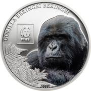 100 Shillings (Mountain Gorilla) – reverse