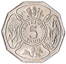5 Shilingi (FAO) – reverse