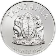 100 Shillings (WWF Amazon Rainforest) – obverse