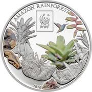 100 Shillings (WWF Amazon Rainforest) – reverse