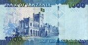 1,000 Shilingi / Shillings – reverse