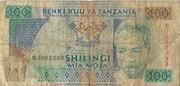 100 Shilingi – obverse
