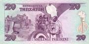 20 shillingi – reverse