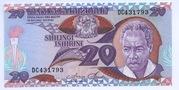 20 Shilingi – obverse