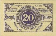 20 Heller (Taufkirchen an der Pram) -  obverse
