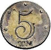 5 Kopeks - Ekaterina II -  obverse