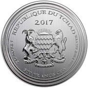 500 Francs (Deathstalker Scorpion) – obverse