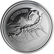 500 Francs (Deathstalker Scorpion) – reverse