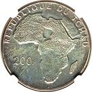 200 Francs (De Gaulle) – obverse