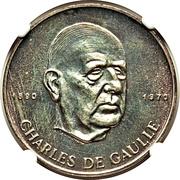 200 Francs (De Gaulle) – reverse