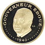 3000 Francs (Independence) – reverse